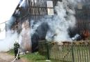 V Bukovci na Klatovsku hořel kravín. Uvnitř byl ustájený dobytek