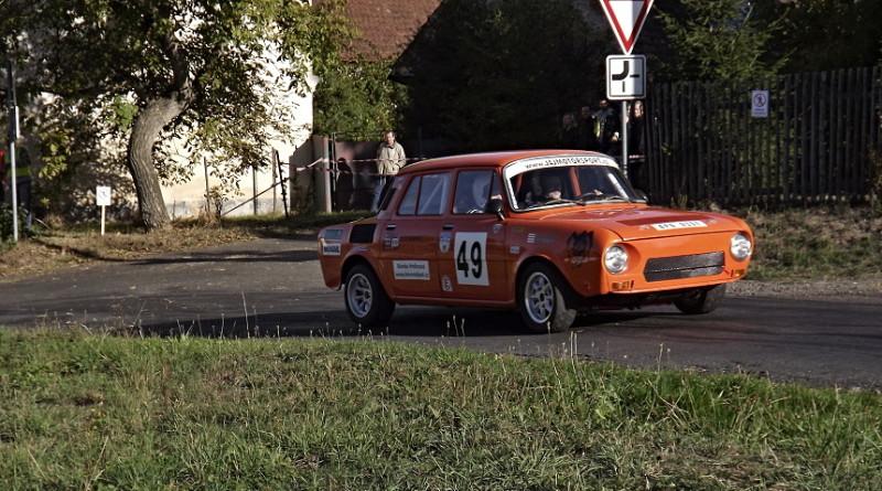 Rallye Kramolín - pos. Josef tyml, pnd