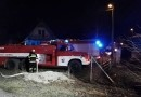 Poblíž Šťáhlav shořely dvě chaty. Škoda je více jak dva miliony korun