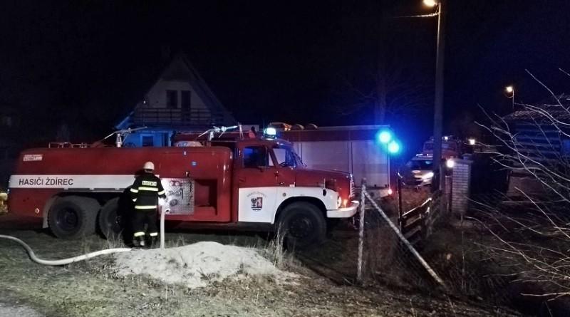 požár stodoly ve Ždírci III, aut-Jan Sýkora ml.