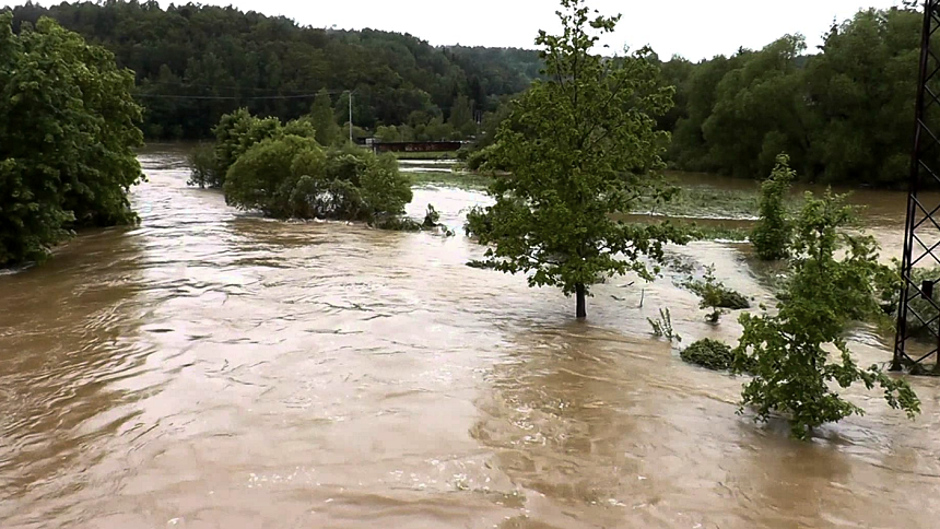 povodně rokycansko 2013, youtube