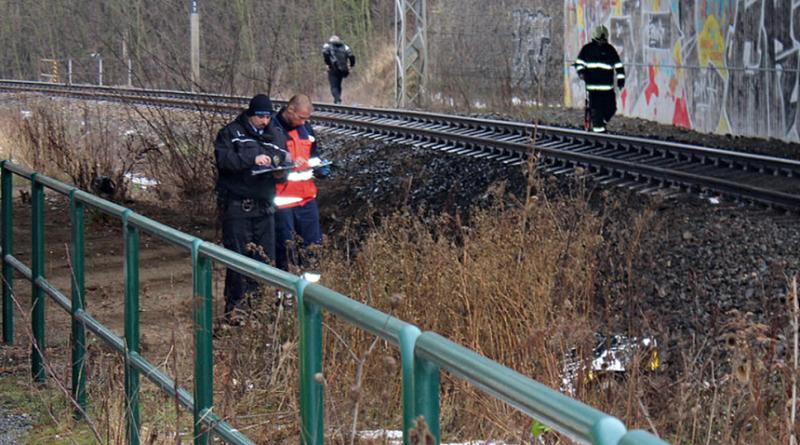 žena spáchala sebevraždu skokem pod vlak na trati do Klatov, krimi-plzen.cz