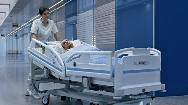 postel, nemocnice, zdrij - linet