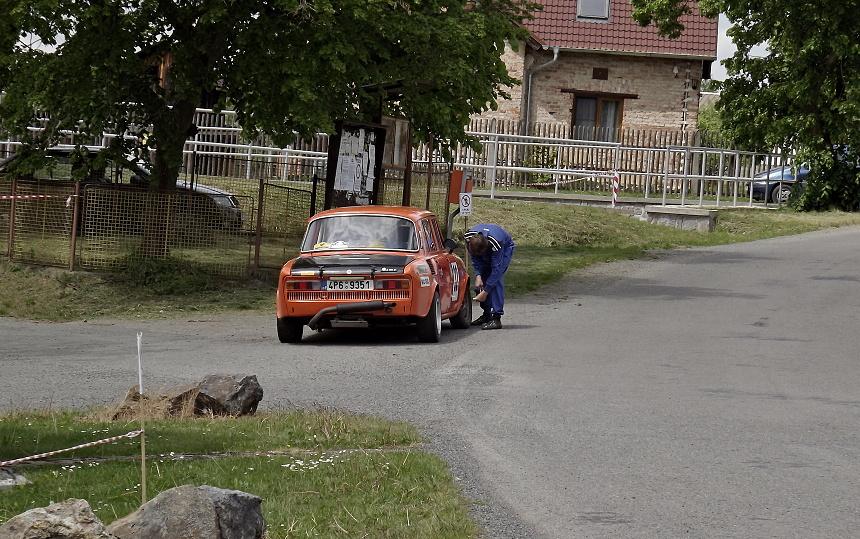 porucha na vozidle, podbrdská rallye legend 2016, PnD