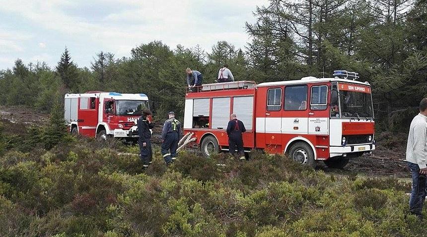 cvičení hasičů jordán brdy, josef sykora