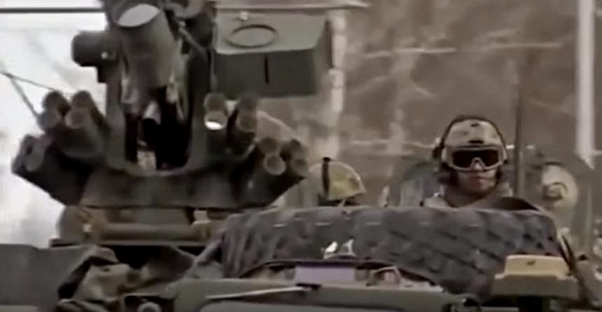 konvoj amerických vojsk, zdroj - youtube