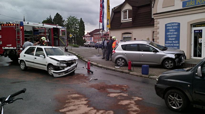 nehoda aut v blovicích, Pnd