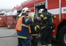Muž, který kopal ve výkopu, překopl plynové potrubí. Na místě museli zasahovat hasiči!