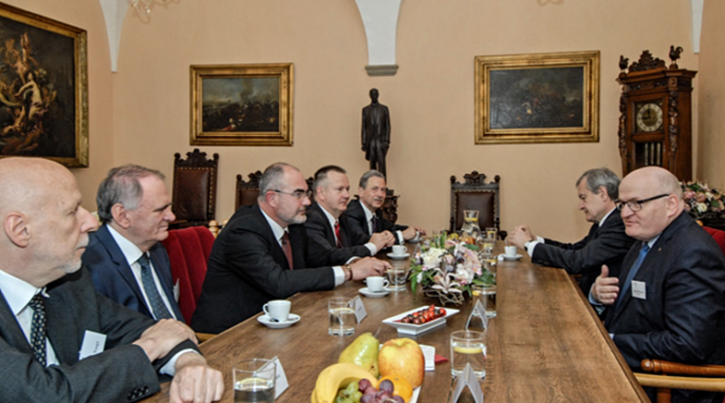 ministři kultury V4 v Plzni, zdroj - plzen.eu