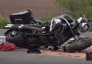 V Hluboké u Žihle došlo při závodech k tragédii. Nejspíše opilý motorkář tam vlétl do lidí