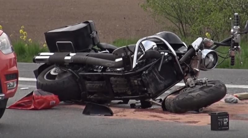 nehoda motorka, zdroj - youtube