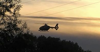 Vrtulník pátrá po vodákovi u Čilé na Rokycansku. Nejspíše se utopil