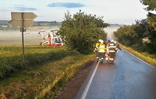 nehoda na vlčtejně, hasiči blovice2 - josef sýkora