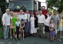 Na dětské odpoledne zavítal do Blovic ministr financí Andrej Babiš. Přijel na pozvání tamních hasičů