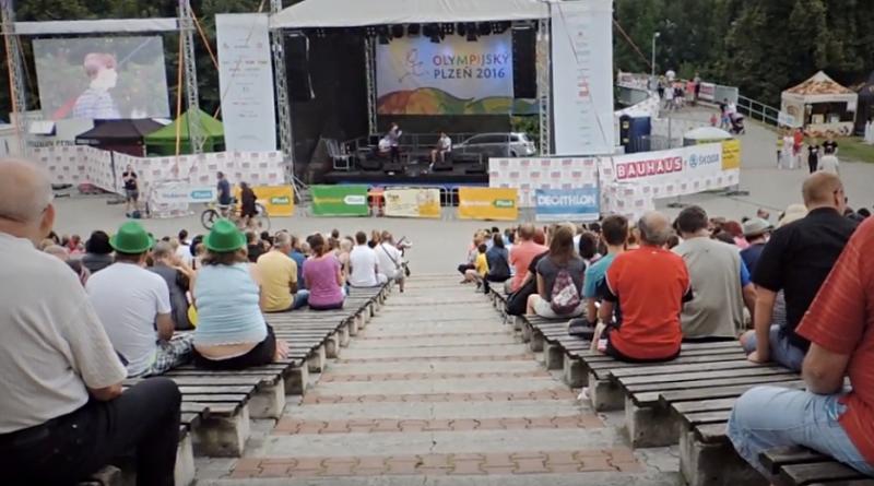 olympijský park Plzeň, zdroj - youtube
