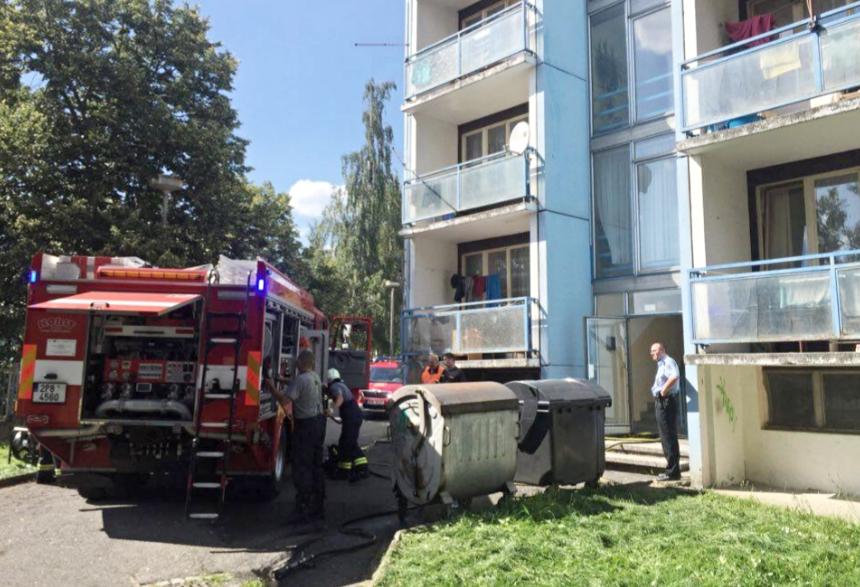 požár ubytovny v tachově 1, zdroj- hzspk.cz