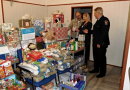 Plzeňský magistrát uspořádal charitativní sbírku. Zaměstnanci darovali potraviny a drogistické zboží