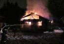 Požár chatky v Bušovicích zaměstnal několik hasičských jednotek. Na místě došlo k explozi!