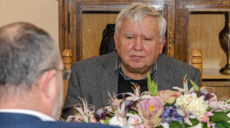 setkání sedmdesátiletého architekta jana Soukupa s primátorem, zdroj - plzen.eu
