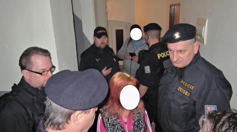 kontrola ubytoven, zdroj - policie ČR