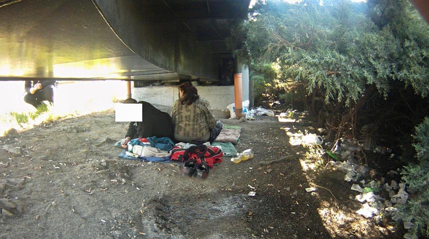 bezdomovci v samém centru města způsobují problémy, zdroj - MP Plzeň