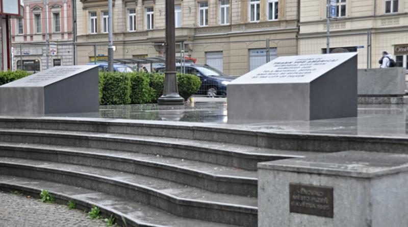 pomník díky ameriko v plzni, zdroj - plzen.eu