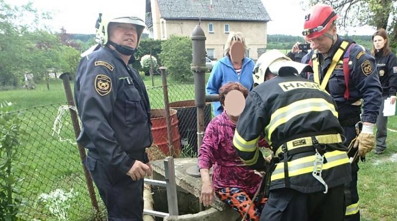 žena spadla do studny ve Skašově, zdroj - HZSPk