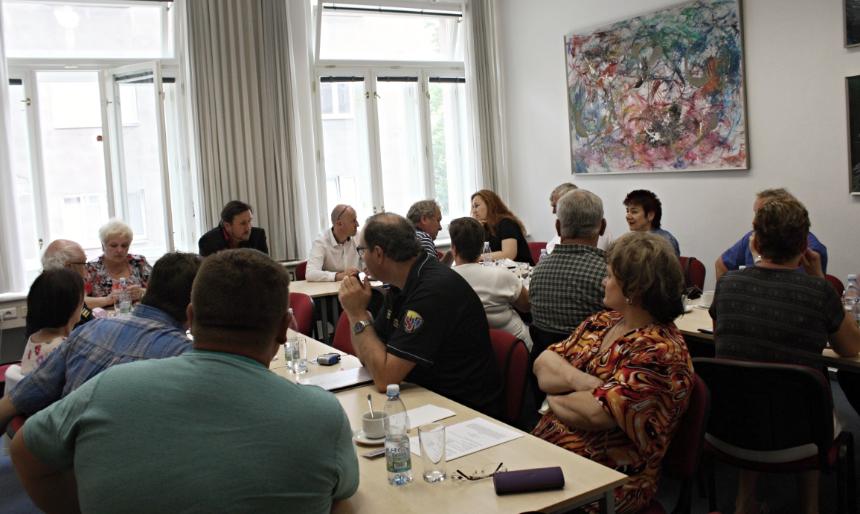 setkání se starosty hasičů SHČMS v Plzni, zdroj - kupk