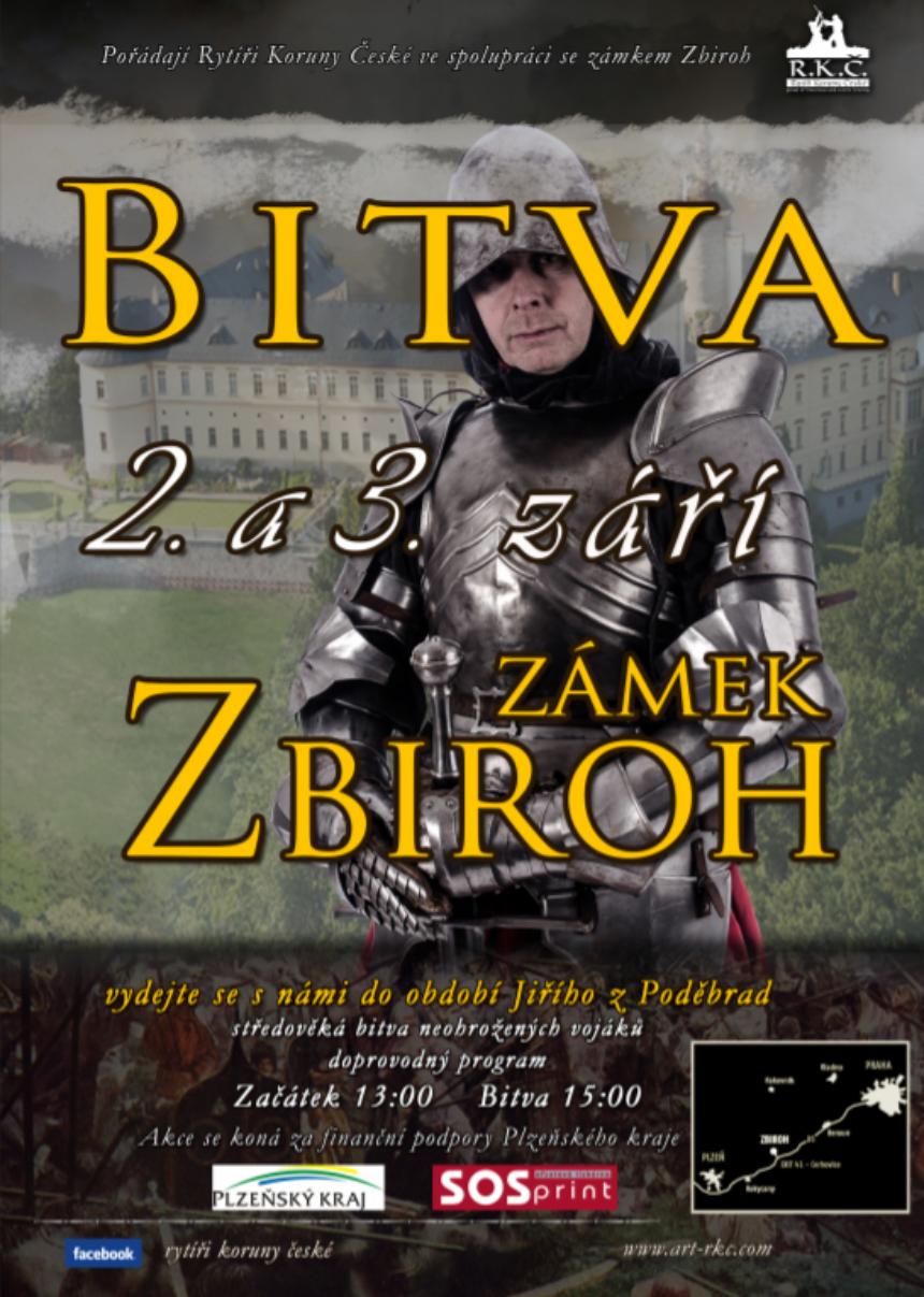 plakát akce rytíři koruny české