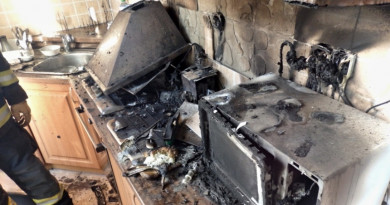 Za požárem kuchyně stála rychlovarná konvice. Škoda je půl milionu korun