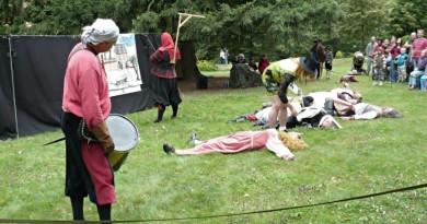 Na zámku Kozel se uskuteční šermířské představení. Program bude bohatý