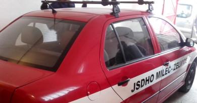 Želvičtí hasiči se dočkají nového hasičského vozidla, využijí jej při zásazích