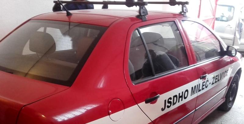 hasiči želvice, nové vozidlo, zdroj - ondřej Chod