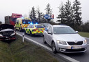 Nehoda u Losiné si vyžádala zranění a uzavření frekventované silnice