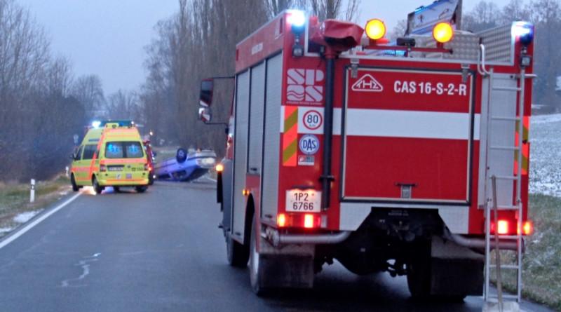 nehoda u kařezu 19.11., zdroj - jsdh zbiroh