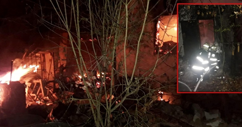 požár chaty Čerňovice 9.11., zdroij. HZSPk